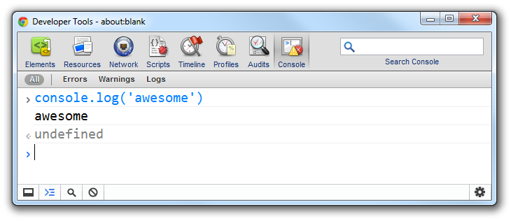 Chrome DevTools with a larger font-size